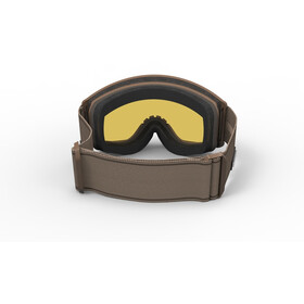 Spektrum Templet Goggles stone/brown revo mirror gold